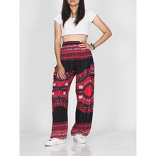 Load image into Gallery viewer, Black Regue 72 women harem pants in Red PP0004 020072 02
