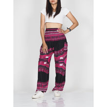 Load image into Gallery viewer, Black Regue 72 women harem pants in Pink PP0004 020072 04