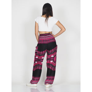 Black Regue 72 women harem pants in Pink PP0004 020072 04