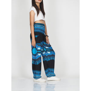 Black Regue 72 women harem pants in Blue PP0004 020072 05