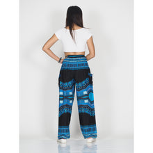 Load image into Gallery viewer, Black Regue 72 women harem pants in Blue PP0004 020072 05