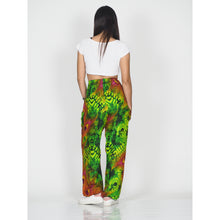 Load image into Gallery viewer, Wild feathers 73 women harem pants in Green PP0004 020073 03