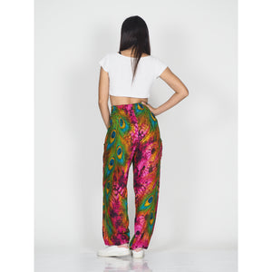 Wild feathers 73 women harem pants in Pink PP0004 020073 05