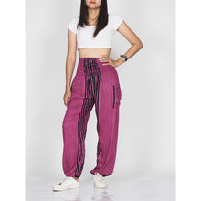 Load image into Gallery viewer, Zebra 77 women harem pants in Pink PP0004 020077 04