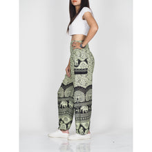 Load image into Gallery viewer, Elephant parade 80 women harem pants in Black PP0004 020080 01