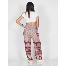 Load image into Gallery viewer, Elephant parade 80 women harem pants in Red PP0004 020080 03