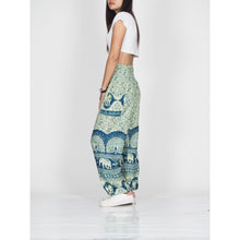 Load image into Gallery viewer, Elephant parade 80 women harem pants in Green PP0004 020080 04
