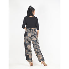 Load image into Gallery viewer, Patchwork Unisex Harem Pants in Black PP0004 028000 10