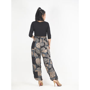 Patchwork Unisex Harem Pants in Black PP0004 028000 10