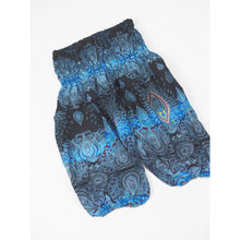 Load image into Gallery viewer, Paisley Buddha Unisex Kid Harem Pants in Blue PP0004 020002 05
