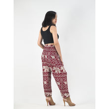 Load image into Gallery viewer, Imperial Elephant 5 women harem pants in Red PP0004 020005 04
