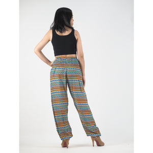 Colorful Stripes 6 women harem pants in Yellow PP0004 020006 07