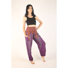 Load image into Gallery viewer, Peacock 7 men/women harem pants in Purple PP0004 020007 02