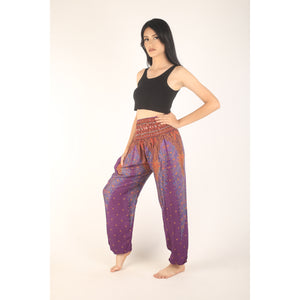 Peacock 7 men/women harem pants in Purple PP0004 020007 02