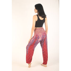 Peacock 8 women harem pants in Dark red PP0004 020008 02