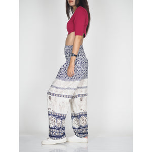 Cute elephant 11 women harem pants in Navy PP0004 020011 04