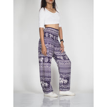 Load image into Gallery viewer, Elephant Temple 14 women harem pants in Navy PP0004 020014 02