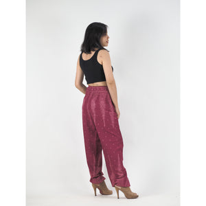 Peacock Feather Dream 15 women harem pants in Red PP0004 020015 01