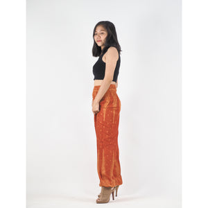 Peacock Feather Dream 15 women harem pants in Orange PP0004 020015 03