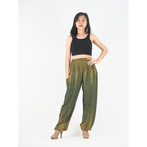 Peacock Feather Dream 15 women harem pants in Green PP0004 020015 10