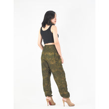 Load image into Gallery viewer, Paisley Mistery 16 women harem pants in Green PP0004 020016 03