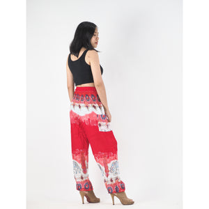 Solid Top Elephant 17 Women harem pants in Red PP0004 020017 05