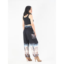 Load image into Gallery viewer, Solid Top Elephant 18 women harem pants in Black PP0004 020018 06