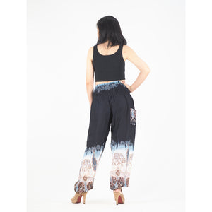 Solid Top Elephant 18 women harem pants in Black PP0004 020018 06