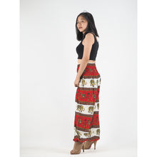 Load image into Gallery viewer, Royal Elephant Women Harem Pants in Red PP0004 020024 02