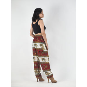 Royal Elephant Women Harem Pants in Dark Red PP0004 020024 04