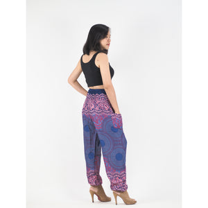 Princess Mandala Women Harem Pants in Purple PP0004 020030 05