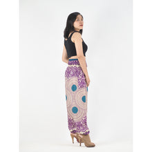Load image into Gallery viewer, Tone mandala 32 women harem pants in Purple PP0004 020032 01