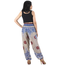 Load image into Gallery viewer, Tone mandala 32 women harem pants in Navy PP0004 020032 04