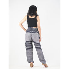 Load image into Gallery viewer, Zebra Stripe 41 women harem pants in Navy PP0004 020041 05