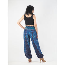 Load image into Gallery viewer, Peacock Heaven 58 men/women harem pants in Navy PP0004 020058 03