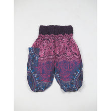 Load image into Gallery viewer, Clock nut Unisex Kid Harem Pants in Purple PP0004 020067 04