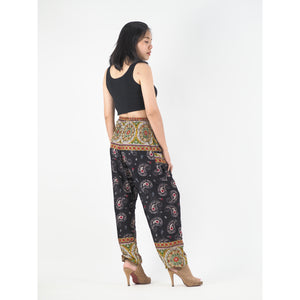 Paisley Indy 117 men/women harem pants in Black PP0004 020117 04