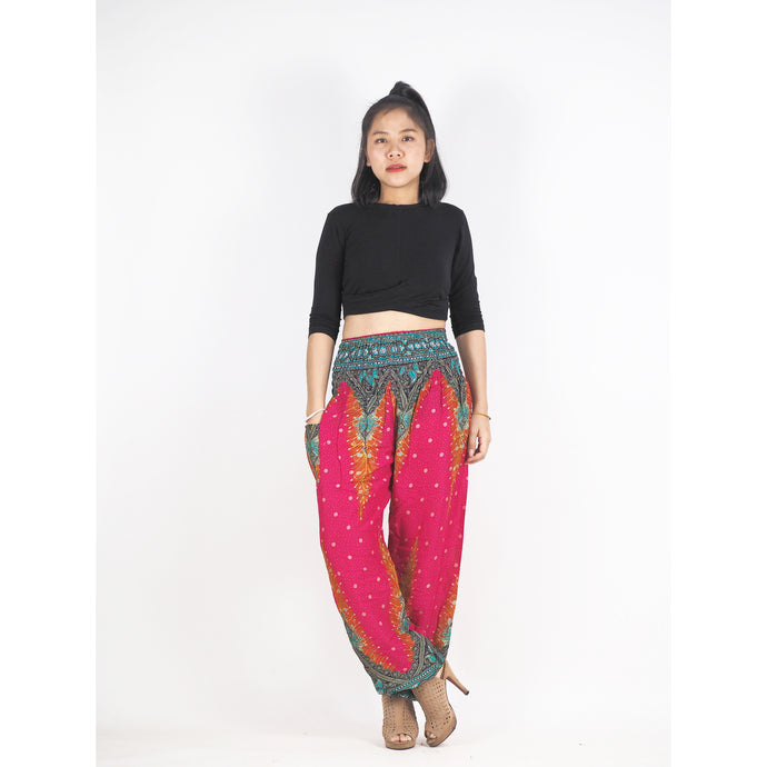 Peacock 168 women harem pants in Pink PP0004 020168 01
