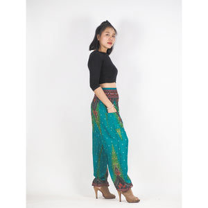 Peacock 168 women harem pants in Green PP0004 020168 02