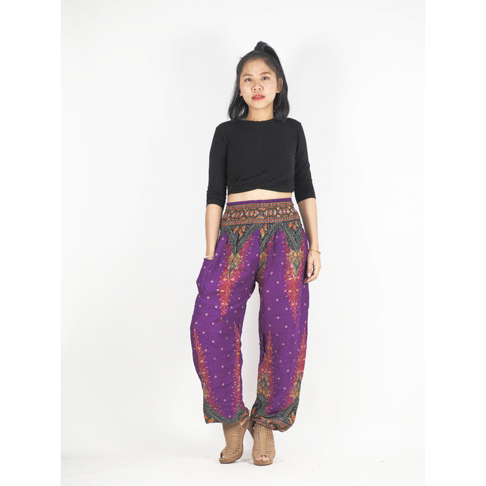 Peacock 168 women harem pants in Purple PP0004 020168 03