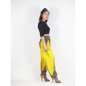 Peacock 168 women harem pants in Yellow PP0004 020168 04