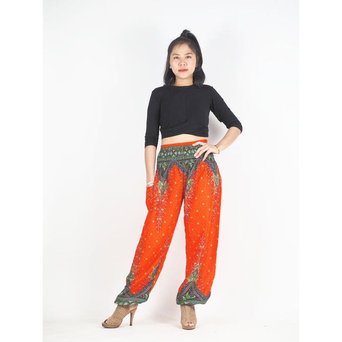 Peacock 168 women harem pants in Orange PP0004 020168 06