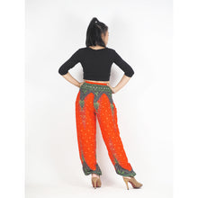 Load image into Gallery viewer, Peacock 168 women harem pants in Orange PP0004 020168 06