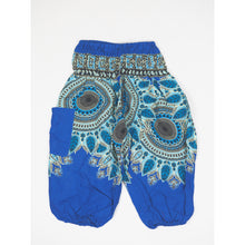 Load image into Gallery viewer, Sunflower Unisex Kid Harem Pants in Blue PP0004 020171 01