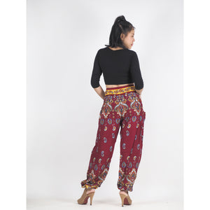 Paisley 174 women harem pants in Red PP0004 020174 02