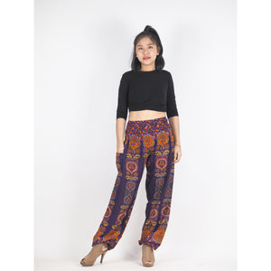 Love stripe 188 women harem pants in Purple PP0004 020188 02