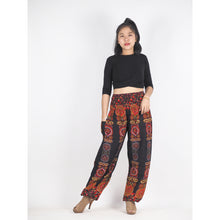 Load image into Gallery viewer, Love stripe 188 women harem pants in Black PP0004 020188 03