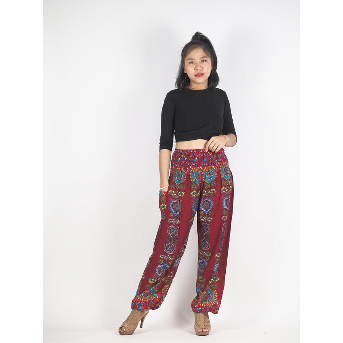 Love stripe 188 women harem pants in Red PP0004 020188 05