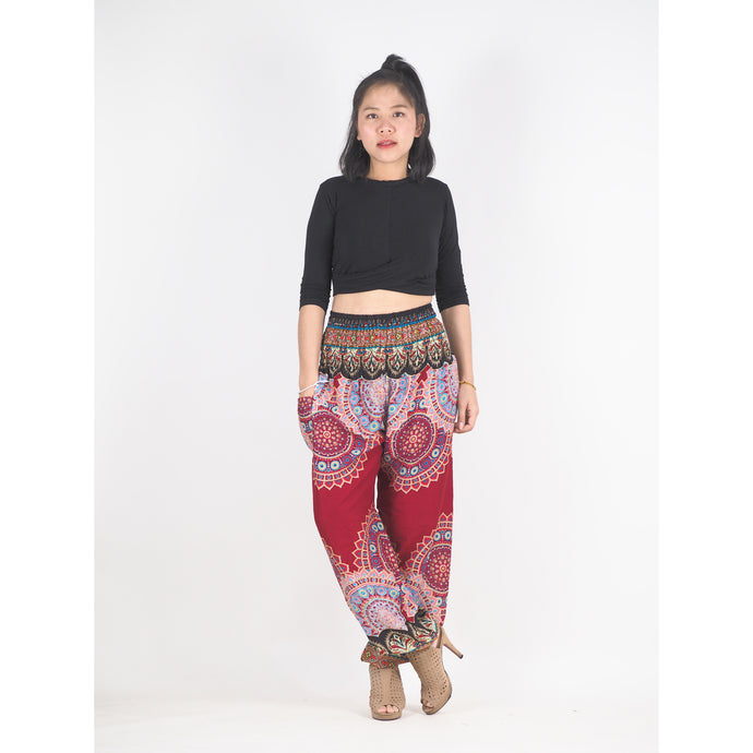 Mandala 189 women harem pants in Red PP0004 020189 02