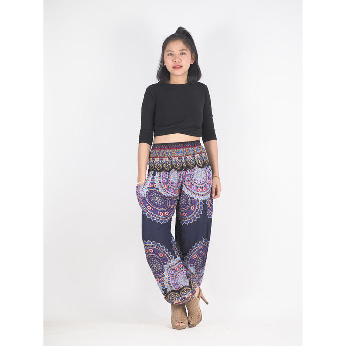 Mandala 189 women harem pants in Navy blue PP0004 020189 05